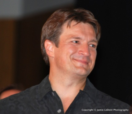 Nathan Filion as Captain Malcolm Reynolds