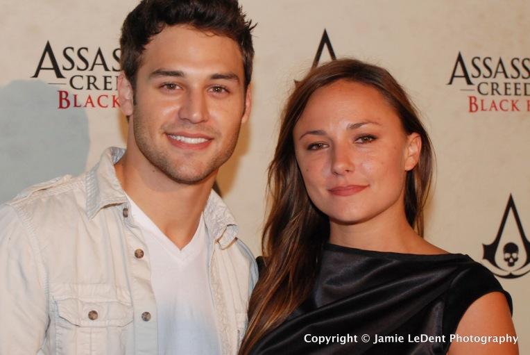 Brianna Evagin and Ryan Guzman